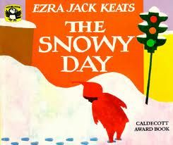 The Snowy Day by Ezra Jack Keats different pictures from the book