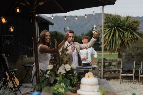 Cheers to fabulous Wedding Planners and beautiful Couples- for wedding planning tips and tricks check out our instagram and website x #sayidoinwanaka #tregold #tregoldweddings #weddingplanner #weddingplanning #summerwedding #glendhubay