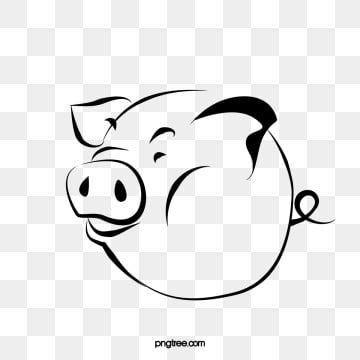 Tummy Cartoon Pig Vector Cartoon Clipart Pig Clipart Tummy Pigs Png Transparent Clipart Image And Psd File For Free Download Pig Silhouette Pig Cartoon Cartoon Clip Art