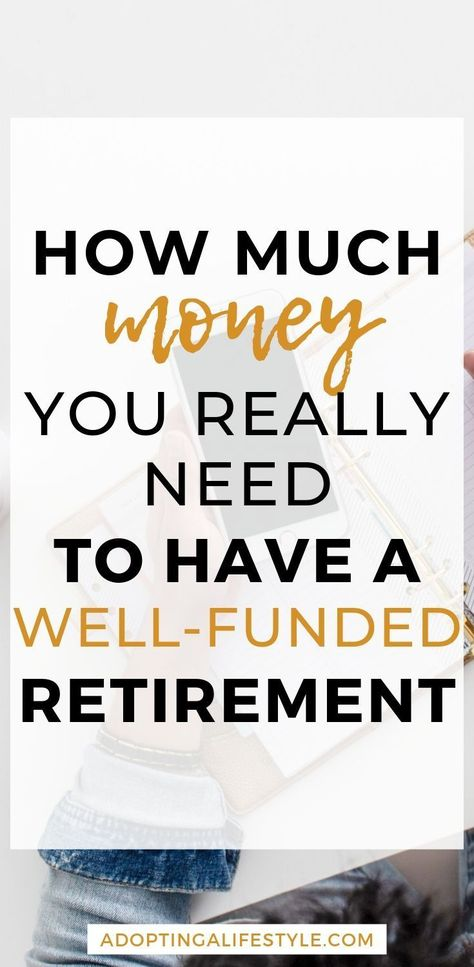 How Much Money do you Actually need to Retire? - Adopting a Lifestyle