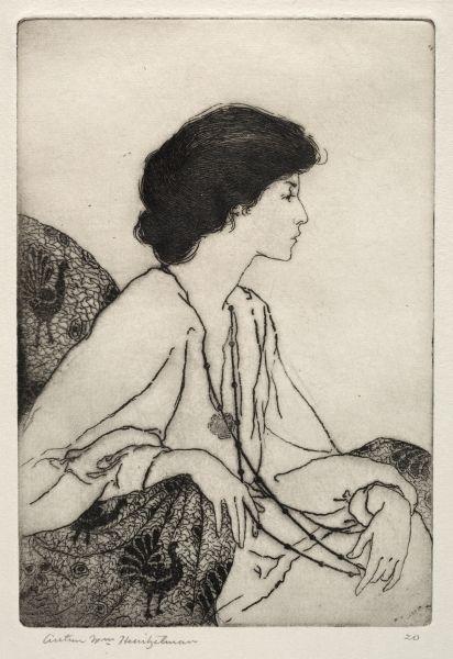 Ladies of leisure // Arthur William Heintzelman (American, etching, . Gift of Ralph King Gravure Illustration, Art Et Illustration, Art Sketches, Art Drawings, Etching Prints, Cleveland Museum Of Art, Figure Drawing, Figurative Art, Art Inspo
