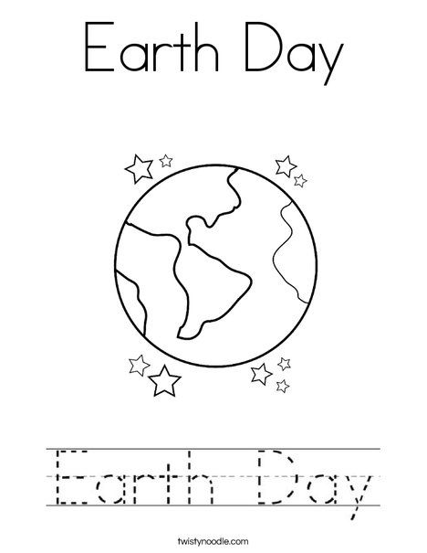 Earth Day Coloring Page Twisty Noodle Earth Day Coloring Pages Earth Day Earth Day Worksheets