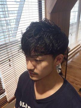 ワイルド × モード」メンズパーマスタイル☆schritt takuya