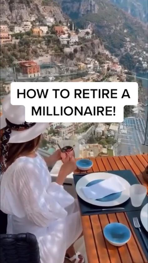adheres how to retire a millionaire! click link in bio to make money 💰