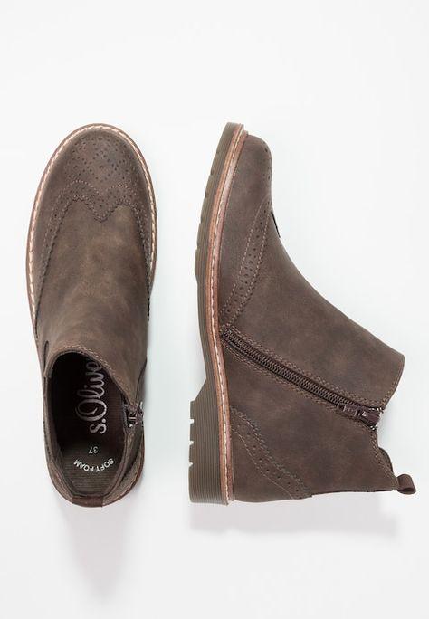 best service 4f8ed c911e Ankle Boot - mocca @ Zalando.de 🛒 in 2019 | Fashion | Boots ...