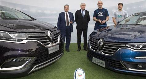 Al volante Renault Italia e Federazione Italiana Rugby unite per la vittoria [multipage]  Nella straordinaria cornice dello Stadio Olimpico di Roma che ha accolto la prima sfida del Sei Nazioni di rugby tra Italia #volante #alvolante #motori #inchieste #prove #automobilismo