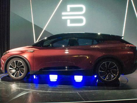 Byton Ces Concept Car Electric Cars Electricity Suv
