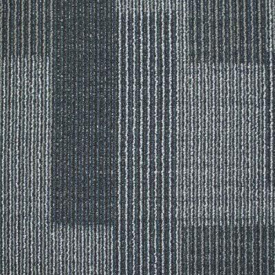 Rockefeller Midnight Blue 19 7 In X 19 7 In Carpet Tile 20 Tiles Case 707007 The Home Depot Carpet Tiles Commercial Carpet Tiles Ocean Texture