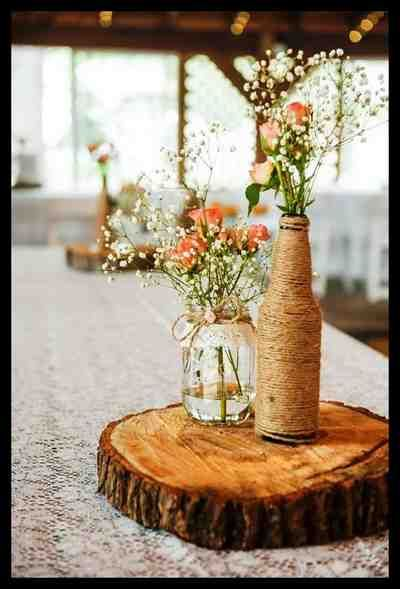 Amazing Used Rustic Wedding Decor Collections 2018 Elegant Weddings Budget Friendly Wedding Centerpieces Wedding Centerpieces Rustic Wedding Centerpieces