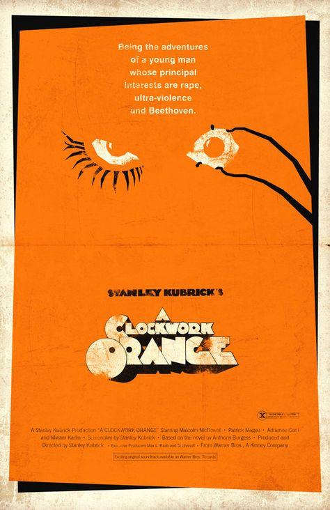 A Clockwork Orange 11x17 Movie Poster