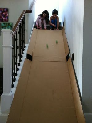 The Contemplative Creative: Kids Project : Cardboard Slide