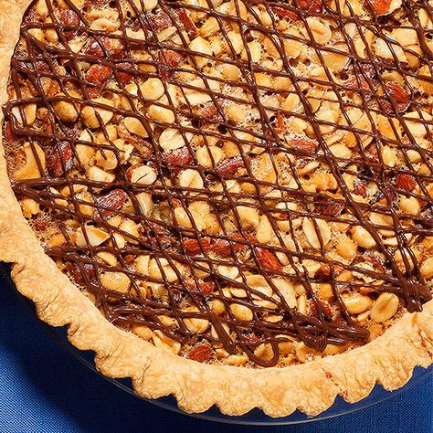 Mixed-Nut Turtle Pie