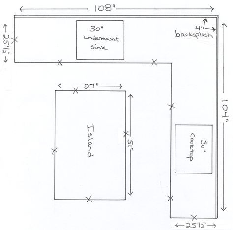 Kitchen Island Dimensions Layout Metric 50 Ideas Kitchen Island Dimensions Kitchen Floor Plans Kitchen Island Size