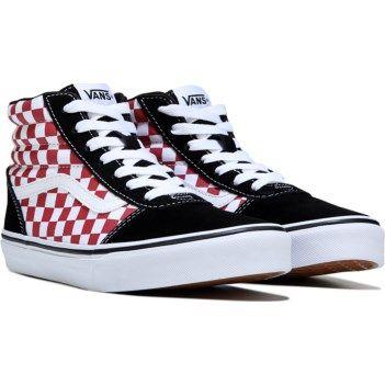 Vans Kids' Ward High Top Sneaker Pre
