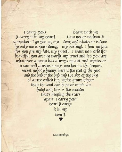August Grove 'I Carry Your Heart' Textual Art