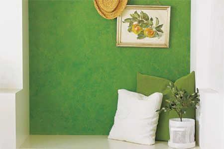 How to Rag-Roll Paint for an Old-World Look | Wall, Hallway ... Rag House Plans on