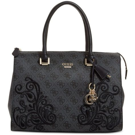 bdabe511b0 Guess Arianna Medium Box Satchel ( 128) ❤ liked on Polyvore featuring bags