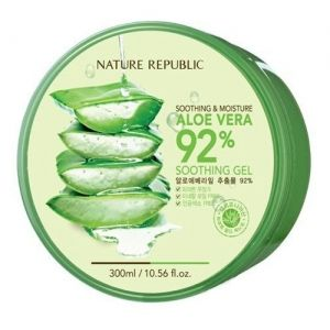 Nature Republic Aloe Vera 92 Soothing Gels Moisturizers Korean Skin Care 300ml A Multi Functional Sooth Nature Republic Aloe Vera Aloe Vera For Skin Aloe Vera