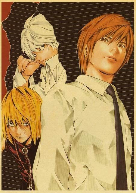 Death Note Posters Retro Posters - Q045 20