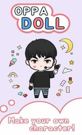 Oppa doll is a Casual Game for android download last version