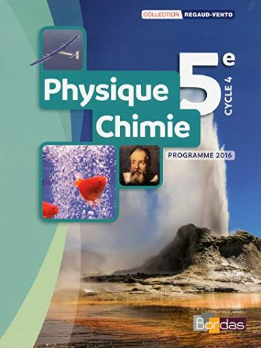 Telecharger Physique Chimie 5e Collection Regaud Vento Manuel Del Eleve Edition 2017 Pdf Et Epub Le Livres In 2020 Good Books Books This Book