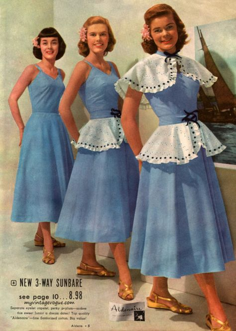 6bf366ff6fb4 Aldens - Summer Catalog 1948