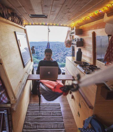 HÄNGEMATTE IN VAN (Camping Hacks)