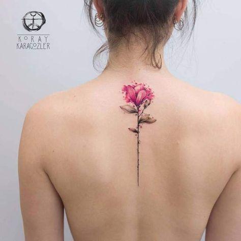 Le Tatouage Aquarelle Fleur De Lotus Tatouage Aquarelle