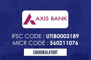 Axis Bank Chandra Layout Ifsc Code Axis Bank Coding Personal Loans