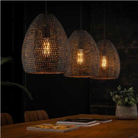 Hanglamp America 3 Lamps In 2020 Hanglamp Lampen En Industriele Hanglampen