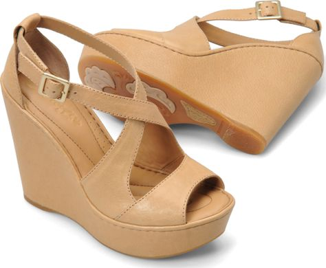 6413399aed0a I think these are going to be my spring summer sandals this year! Born  Womens Chelsi in Natural
