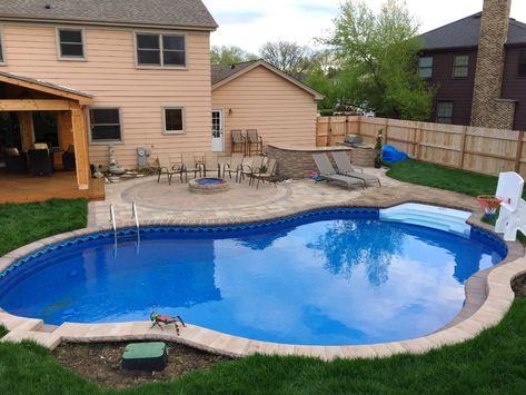 Patio Design For Pool By Palatine Il Pool Deck Builder Swimming