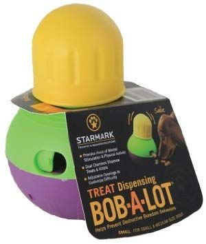 Pet Supplies Pet Chew Toys Starmark Bob A Lot Interactive Dog