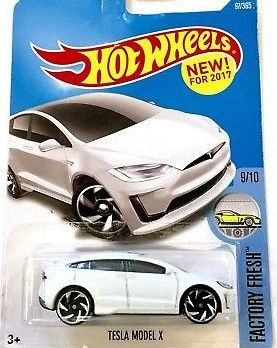 2017 Hot Wheels Factory Fresh 9 10 Tesla Model X First Edition Hot Wheels Toys Hot Wheels Tesla Model X