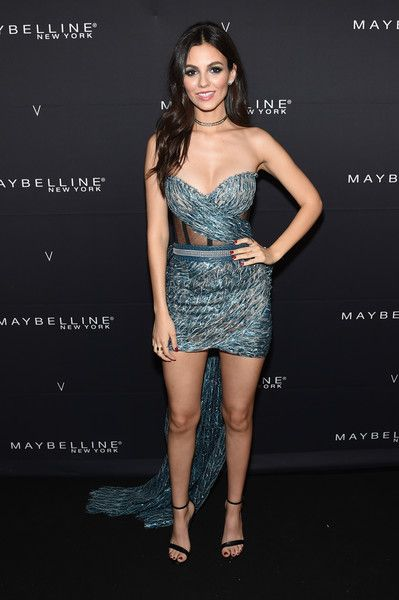 Actress Victoria Justice attends the Maybelline New York x V Magazine Party.