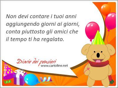 15 Frasi Di Compleanno Con Conta Diario Dei Pensieri Buon Compleanno Nipote Compleanno Nipote Buon Compleanno