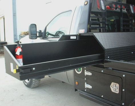 17 ideas truck bed trailer ideas tool box for 2019 Truck Bed Trailer, Truck Flatbeds, Shop Truck, Custom Flatbed, Custom Truck Beds, Custom Trucks, Truck Tools, Truck Tool Box, Truck Bed Box