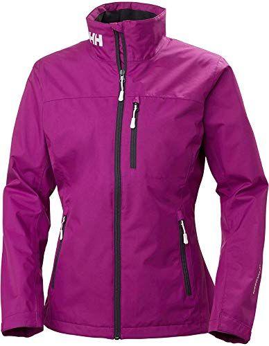 New Helly Hansen Womens Crew Jacket Berry 30297 online in