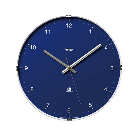 Lemnos North Clock Blue T1 0117 Bu Review Wall Clock Large Wall Clock