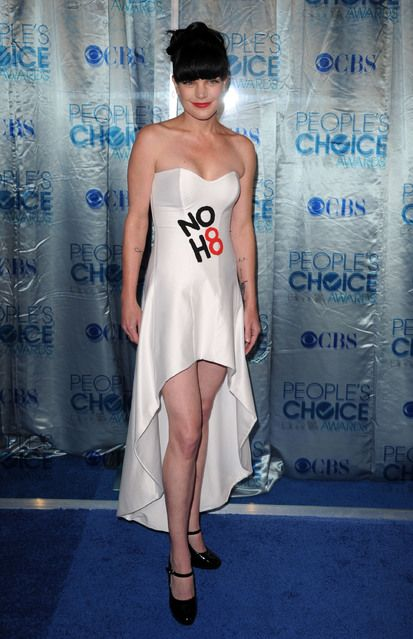 Pauley Perrette at the 2011 People's Choice Awards