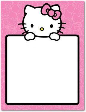 Tarjetas Cumpleanos Hello Kitty Grande Invitaciones De
