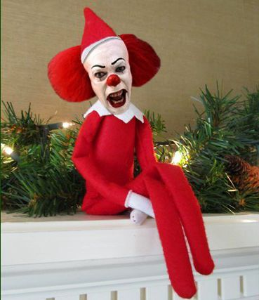 Christmas Stuff.Aaaahhhhh Pennywise Elf Cute Funny Stuff In 2019 Elf