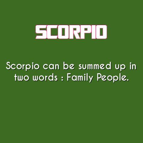scorpio daily astrology fact