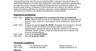 Modelo De Curriculum Vitae Objetivos Modelo De Curriculum Vitae In 2020 Personalized Items Person