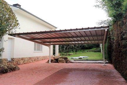 Nueva Marquesina Para Vivienda Particular En 2020 Marquesinas Estructuras Para Exterior Estructuras Pintadas