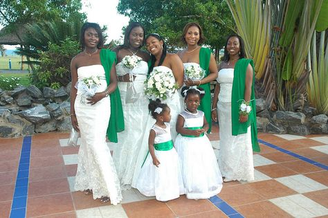 African American Wedding Hair Bridesmaid African Beautiful