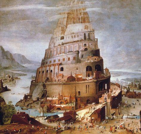 Un Pueblo En Confusion Con Imagenes Torre De Babel Babel