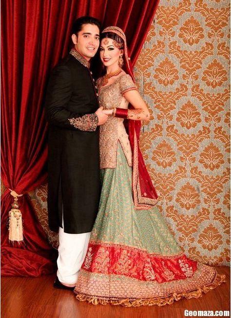 Pakistani bride and groom dresses dulhan pakistani bridal, pakistani