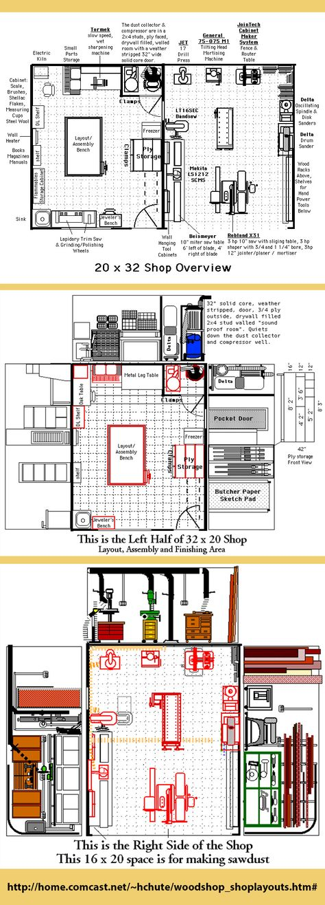 Possible Workshop Layout | For The Home | Pinterest | Workshop Layout,  Layouts And Car Garage