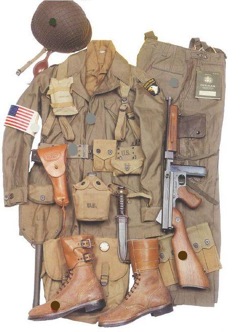 Fox Company, 506th PIR, 101st Airbone (Reenacted) | GEAR